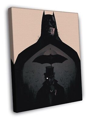 Batman Dark Knight Cool Art Artwork WALL FRAMED CANVAS PRINT