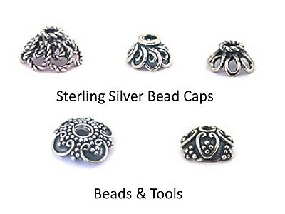 .925 Sterling Silver Bead Caps - Stock Runout - Get them before you miss out!