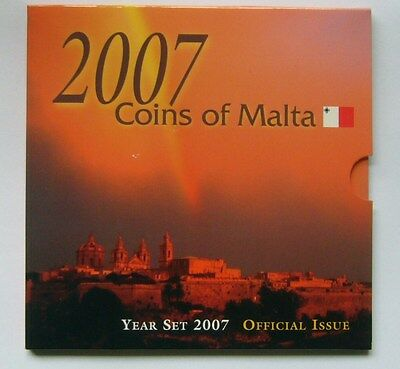 Malta coin set 2007, Official Limited Issue