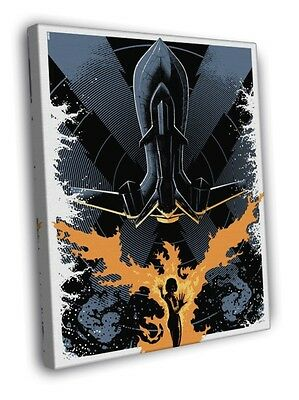 Phoenix Blackbird Jean Grey Cool Artwork WALL FRAMED CANVAS PRINT