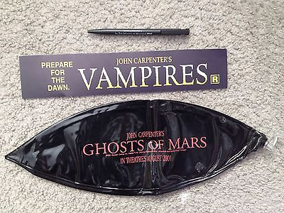 JOHN CARPENTER Movies PROMOTIONAL LOT Vampires GHOSTS OF MARS Mouth of Madness