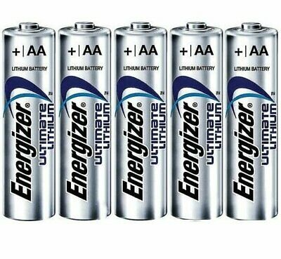 10 Pcs Energizer Aa Ultimate Lithium 1.5V Battery Aa 4X Size L91 Fr6 12/2036
