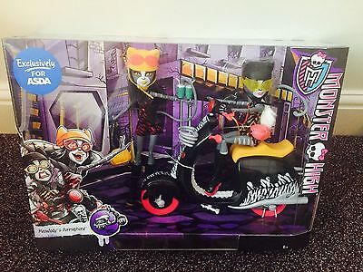 Monster High Meowlody & Purrsephone With Scooter ❤️ ***NEW***RARE***