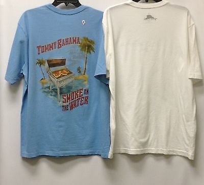 2nd Quality 2 for 23.99 100/% Cotton . NEW Tommy Bahama Men/'s T-Shirt Crew Neck