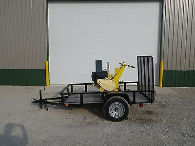 2005 Lineward L2 Drop Bury Plow Dog Fence Vermeer SP11 LM11 Ditch Witch 100SX