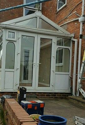 Upvc  conservatory ,professionaly dismantled+labelled.