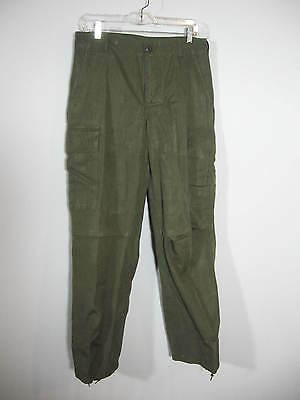 NAMED 1970 Viet Nam Cotton wind resistant trousers Rip stop poplin 30 x 30   (1)