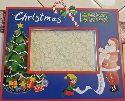 Exposures Quality Christmas 4 X 6 Photo Frame wall or table mount