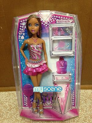 Barbie My Scene Madison Doll African American Bling Boutique Rare