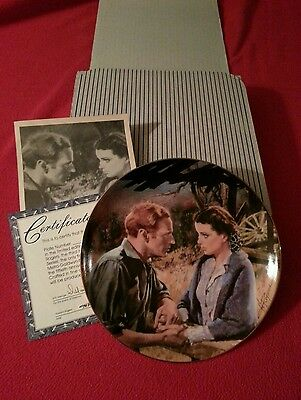 """W.S. George Gone With the Wind Ann. Series, """"Scarlett and Ashley After the War"""""""