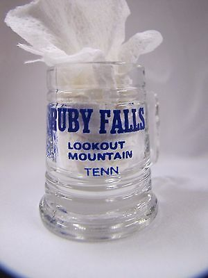 Ruby Falls Tennessee Vintage Souvenir Shot Glass