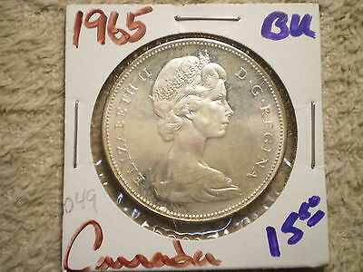 1965 One Dollar Canada/ 800 Silver .6000 Asw/ Awesome