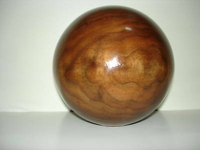 "Unfinished 3"" Dia. Walnut, Oak, Maple, Cherry Wood Ball Newel Post  Finial#224"