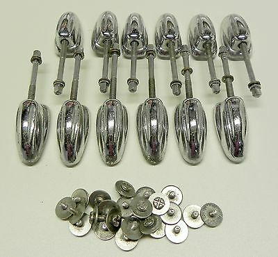 12 50's VINTAGE SLINGERLAND SMALL TOM CLASSIC LUGS w/screws and T Rods