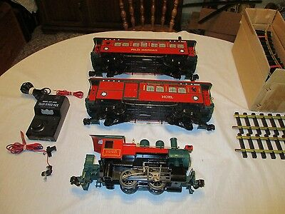 "Aristocraft ""g"" Gauge Christmas Electric Train Set.  Complete And Ready To Run"