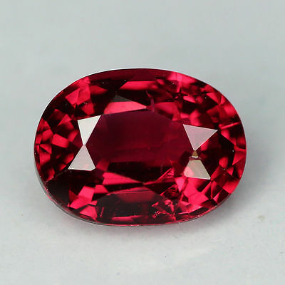 """1.00 cts """"Burma"""" Natural """"Pinkish Red"""" """"Oval Cut"""" """"Spinel"""" PR150"""
