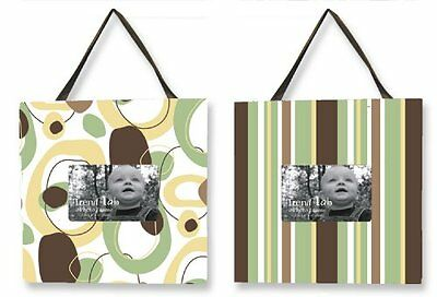 Trend Lab Giggles Two Picture Frame Set