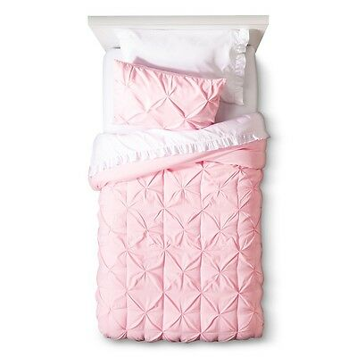 New Circo Pinched Pleat Collection Comforter Set Twin 5 Pcs