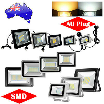 LED Flood Light 10W 20W 30W 50W 100W 150W 200W 300W 500W Floodlight AU Plug 240V