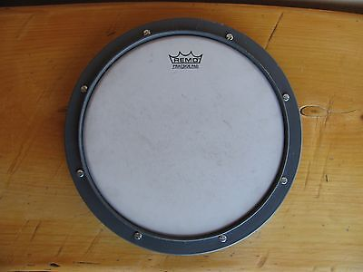 """REMO 10"""" Tunable Practice Pad Mountable Training Drum- Used"""