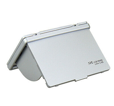 JJC Silver 3 Inch Pop Up Camera Screen Protector LCD Hood for Canon Nikon Sony