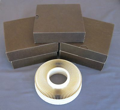 Lot of 5 Sawyer Rototray 100 Slide Carousel Trays in Boxes. Excellent Condition!