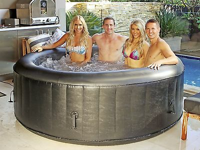 New Inflatable Spa Outdoor Portable Hot Tub Massage Bath Pool PERTH PICK UP ONLY