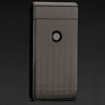 Flameless Electric Rechargeable Cigarette Lighter Arc Plasma Windproof USB Chic