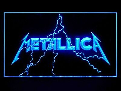 Metallica Band Music Rock Neon Sign Man Cave Night LED Light Best Gift