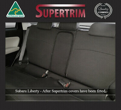 Seat Cover Fits Subaru Liberty Rear 100% Waterproof Premium Neoprene