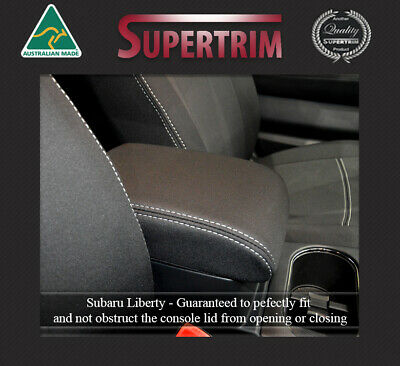 Console Lid Cover fits Subaru Liberty 100% Waterproof Premium Neoprene