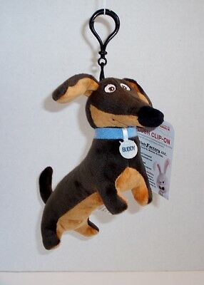The Secret Life of Pets Buddy the Dachshund Dog Plush Clip – On