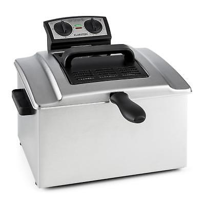 Klarstein QuickPro XXL 3000 Fryer Deep Fryer 5 L 1.5 kg 3000W Shop Crispy