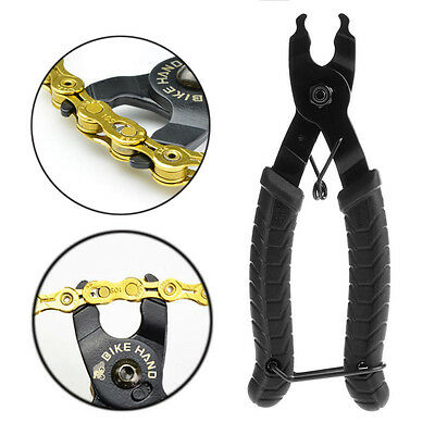Bicycle Open Close Chain Magic Buckle Removal Repair Tool Bike Master Link Plier