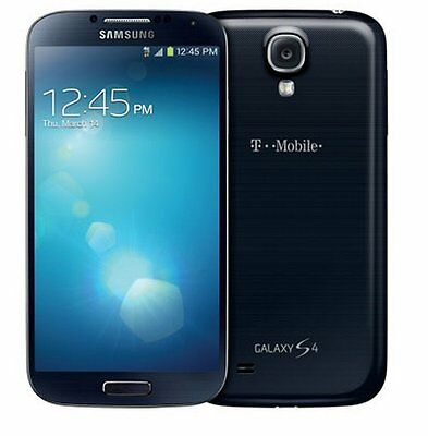 "Cellphone Samsung Galaxy S4 T-Mobile SGH-M919 Unlocked 5"" 13MP 16GB 4G LTE Black"