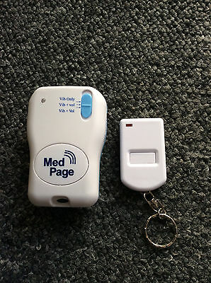 MedPage MPPL Tone/Vibrate Pager and TXH Key Fob Transmitter