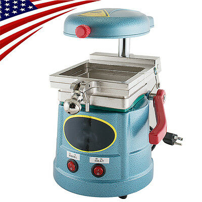 Vacuum Forming Molding Machine Former Dental Lab Equipment 1000W+Free Magnifier