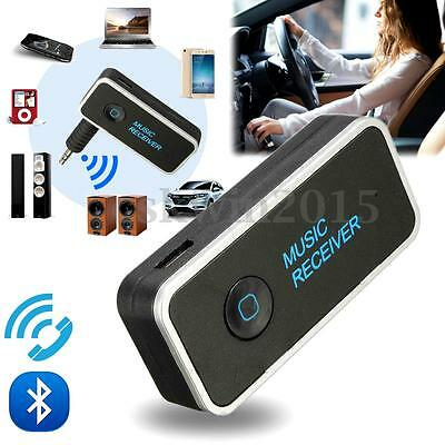 USB Wireless Bluetooth V4.1 AUX Audio Stereo Music Home Car Receiver MIC Adapter