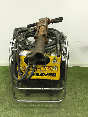 JCB  Beaver hydraulic power pack C/W Hoses & Anti-Vibe Breaker & hoses