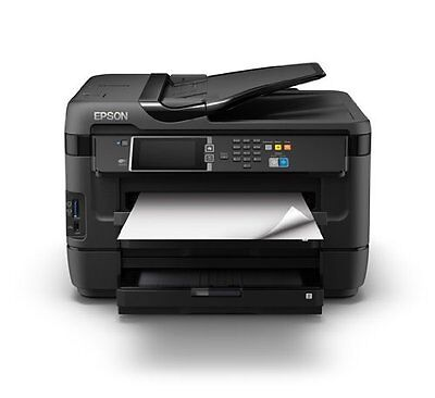 Epson Workforce WF-7620DTWF Imprimante Couleur 4en1 A3+ recto verso double bac
