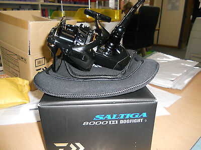 High speed Daiwa 15 Saltiga 8000 Dogfight Fishing Reel Warrantied 15SAL8000HDF