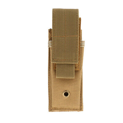 Military Molle Belt Bag Small Tactical Vest Pouch Case for Flashlight Batteries