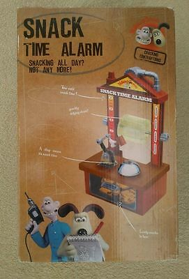 wallace and gromit snack time alarm  Brand new