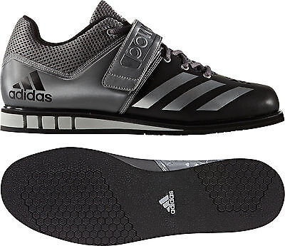 adidas Powerlift 3.0 Mens Weight Lifting Shoes - Black - Free P&P