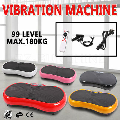 2016 Ultra Slim 2000W Vibration Platform Plate Trainer Machine Exercise Fitness
