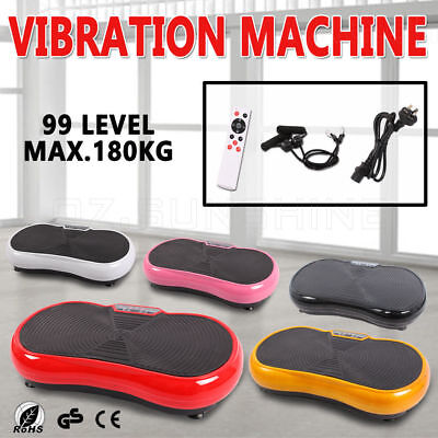 $89 4000W Vibration Machine Platform Dual-belt Motor Exercise Machines Vibrating