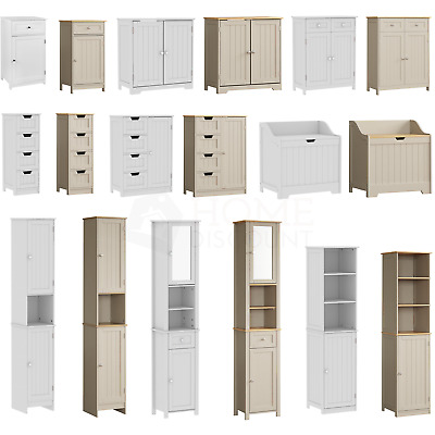 3d4ba4bd15c4 Priano Bathroom Cabinet Door Drawer Wall Mounted Storage Free Standing Units