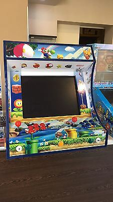 Cabinet   Borne Arcade type Bartop style arcade  2 player personnalisable