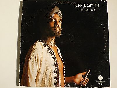 Lonnie Smith - Keep On Lovin', 1976 Original Us Groove Merchant Stereo Lp, Ex