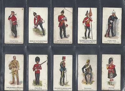 Gallaher - Types Of The British Army (51-100 Now In) - 15 Cards